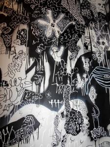 Canteen - Restroom Mural