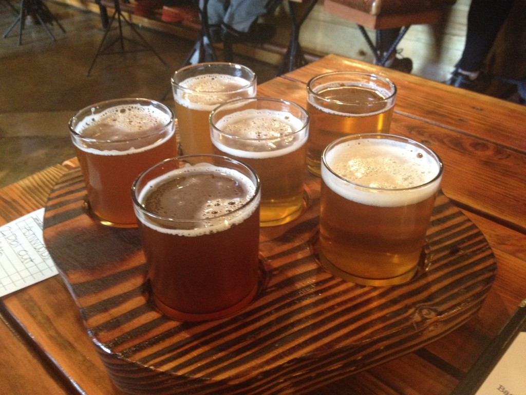 Beer taster - Backwoods Brewing Company
