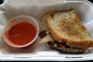 Zeek's Cheese Grill - Oregon Sandwich