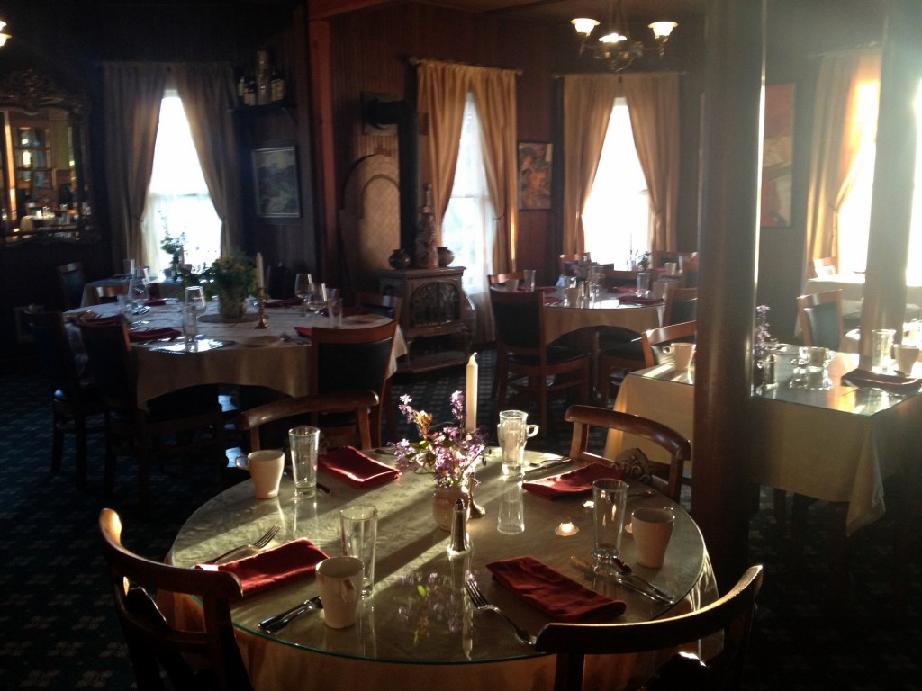 Shelburne Inn Dining Room