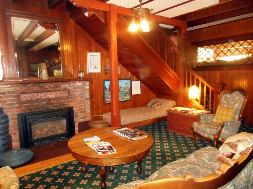 Shelburne Inn Lobby and Stairs
