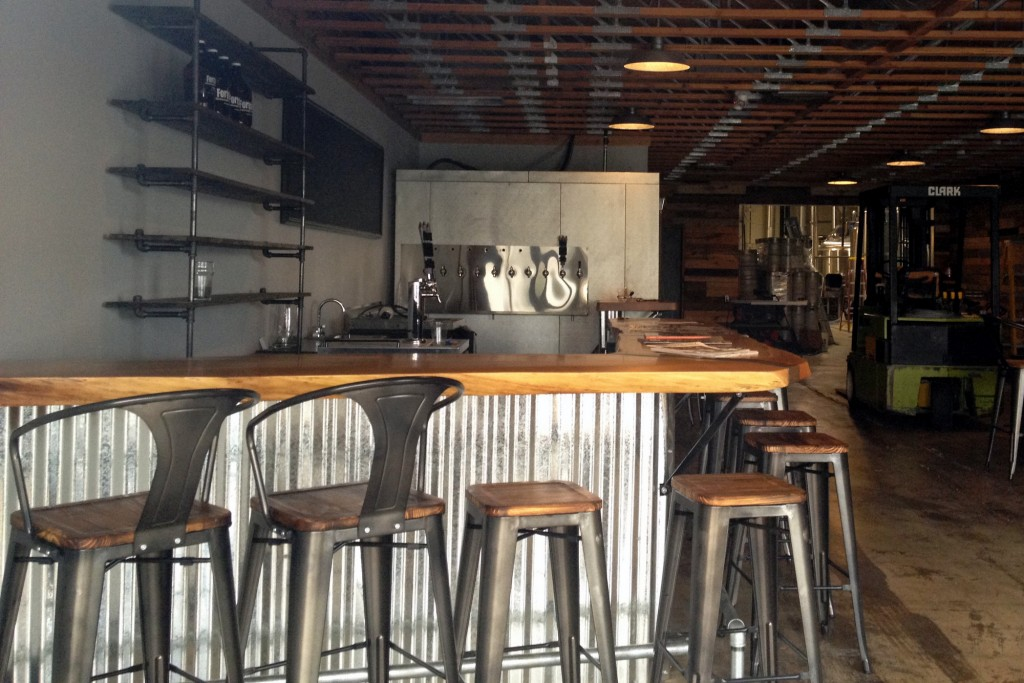Fortside Brewing Tap Room Bar