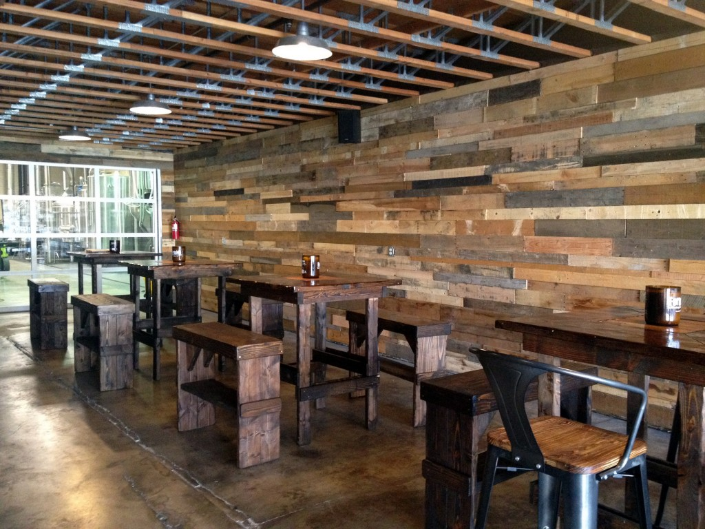 Fortside Brewing Tap Room Tables