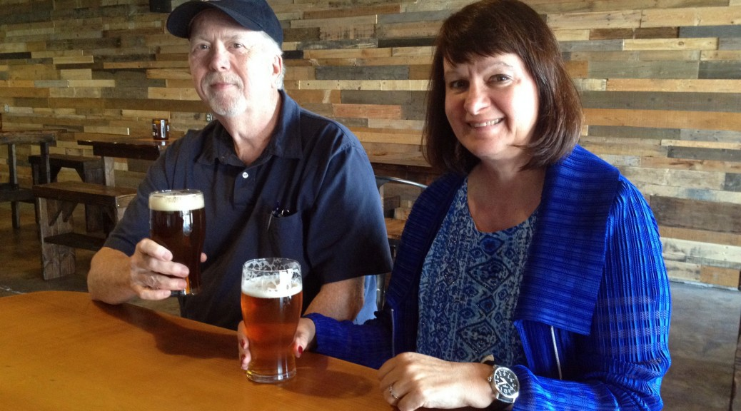The Locavoregons - Rich and Wendy at Fortside Brewing Tap Room