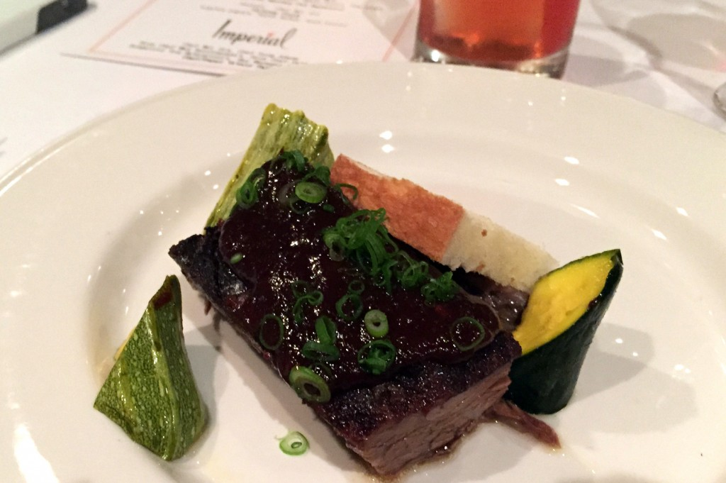 Doug Adams 24-hour smoked short rib