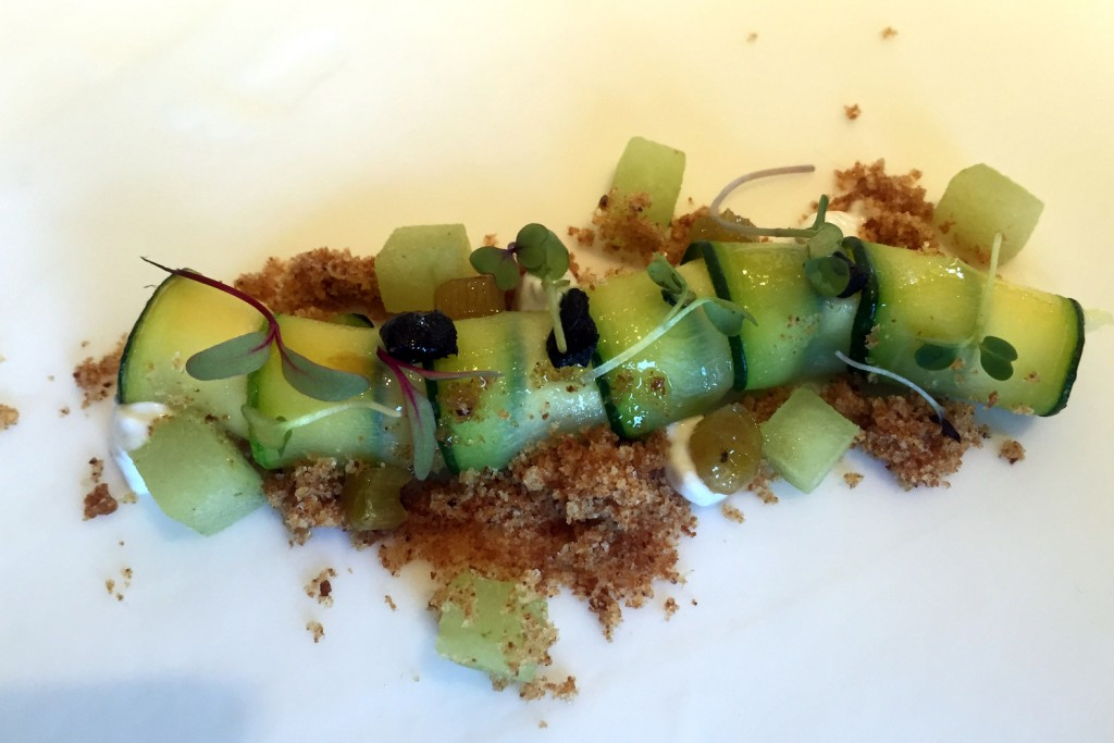 Can Jubany - cod, green apple, honey, celery