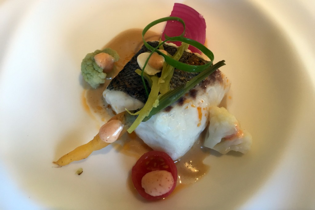 Can Jubany - Hake with vinaigrette