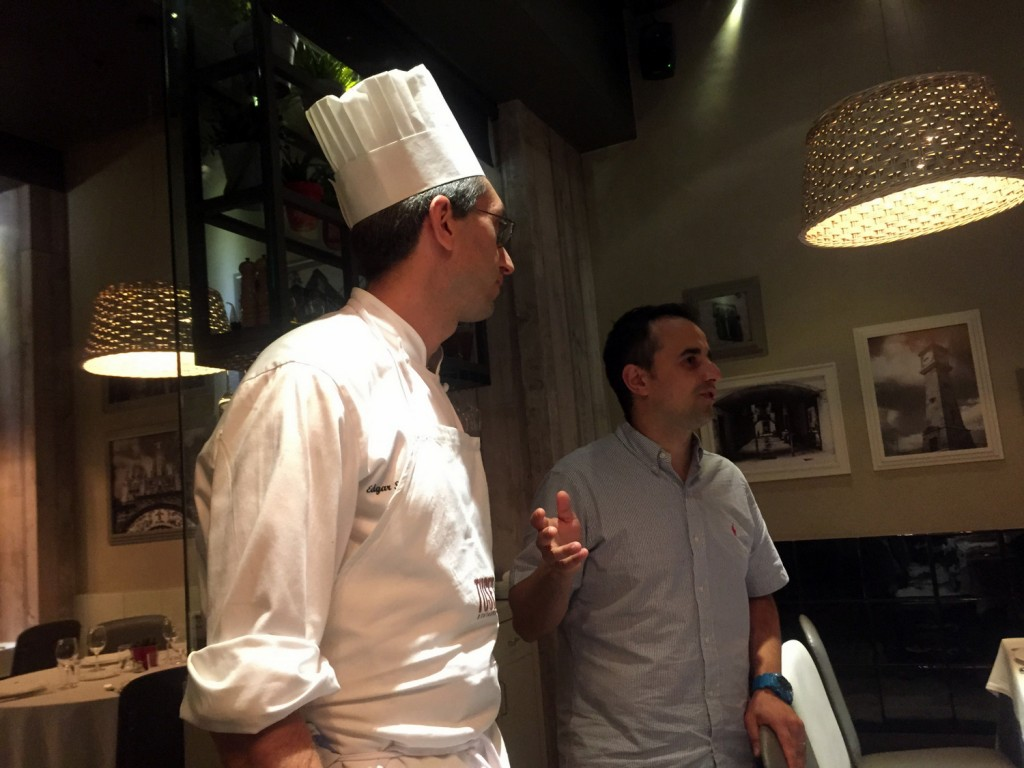 Tuset Chef and Jose Chesa