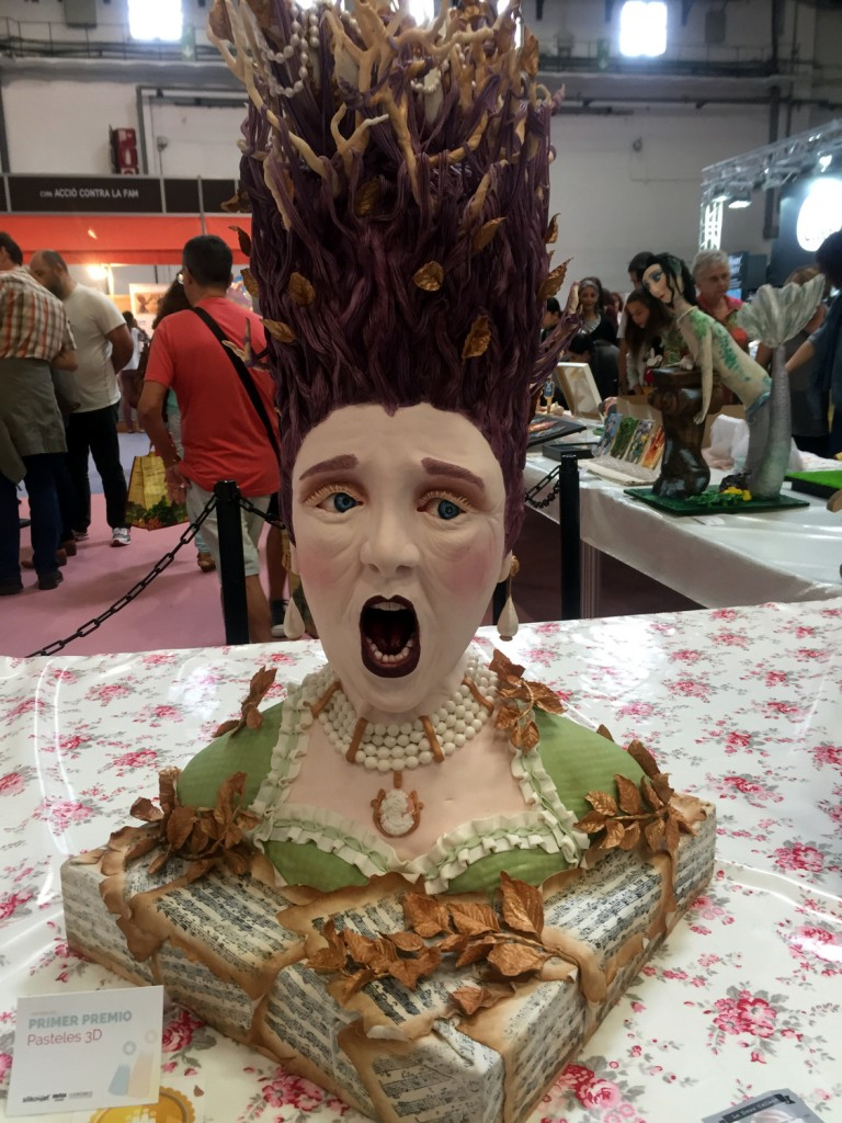 Fancy cake in competition at Degusta Show