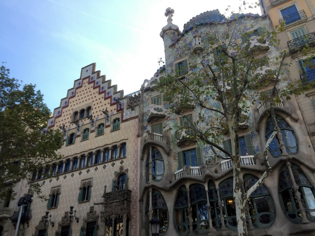 Casa Amatller and Casa Batilo