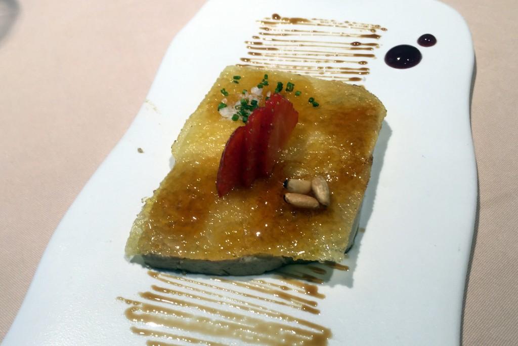 La Taverna del Clinic - foie gras