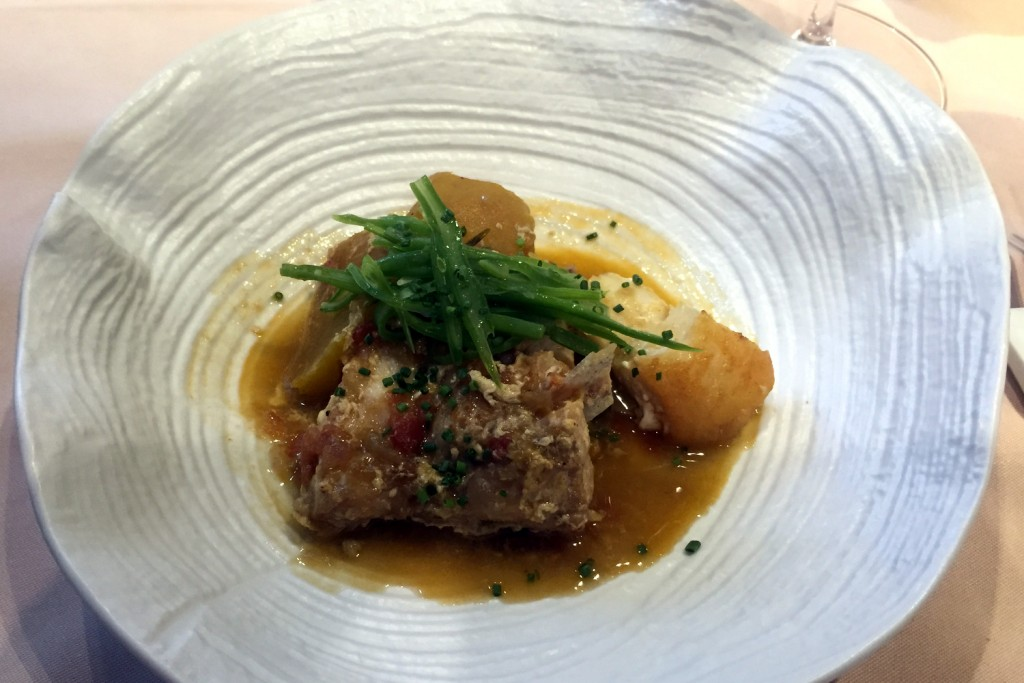 La Taverna del Clinic - Rockfish and Hake sucret