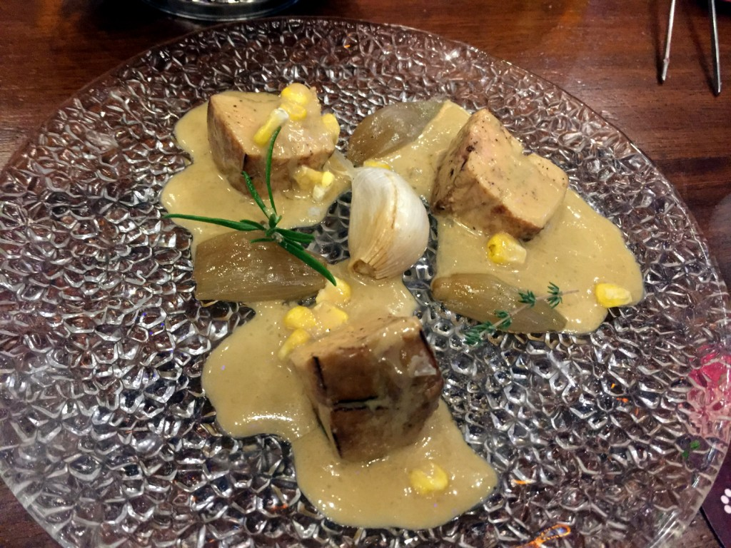 Foie in pickled sauce