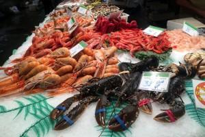 Mercat La Boqueria Lobster