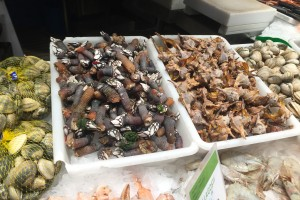 Barnacles at La Boqueria