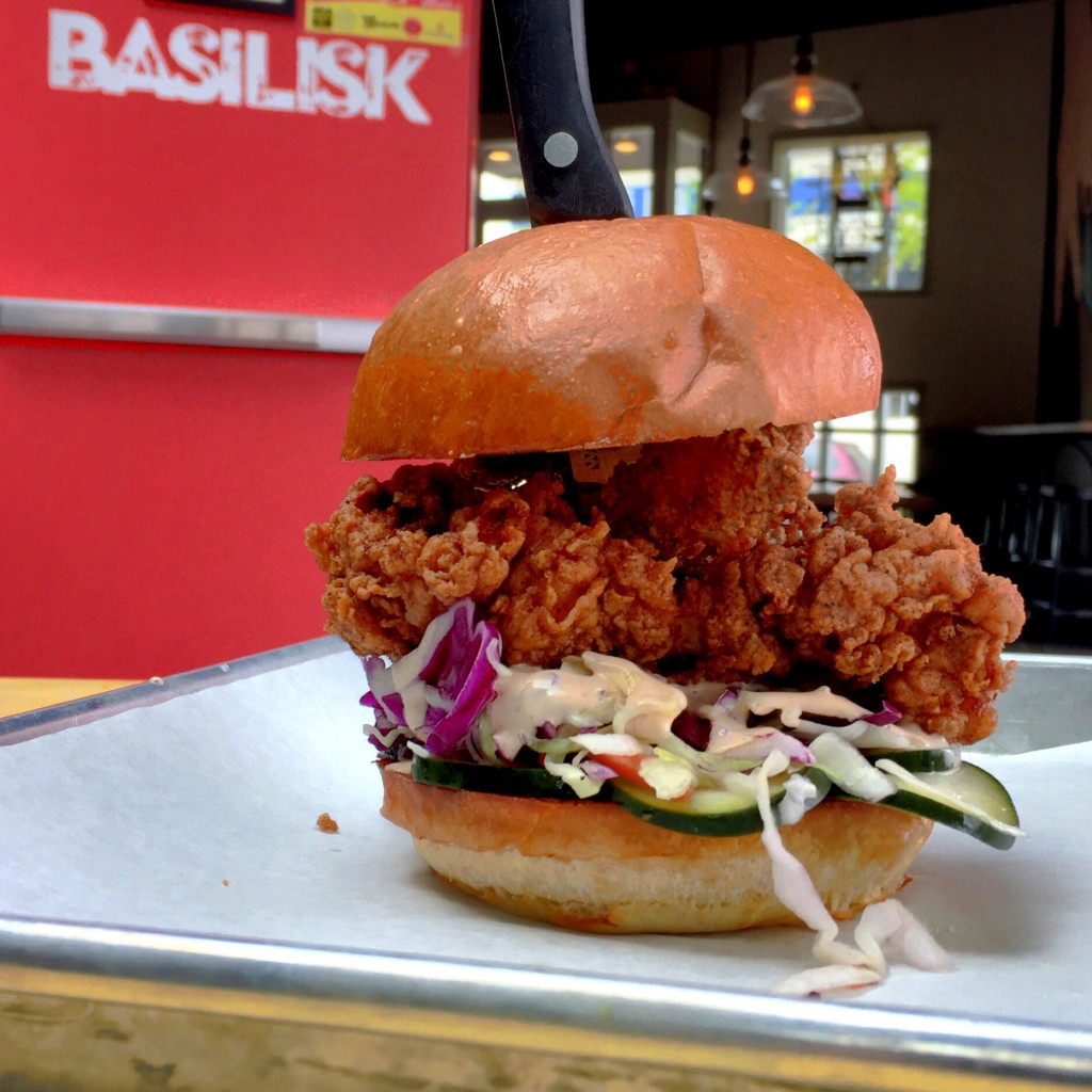 Basilisk Fried Chicken Sandwich