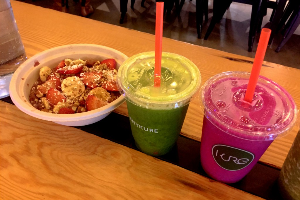 Kure Acai Bowl and Smoothies