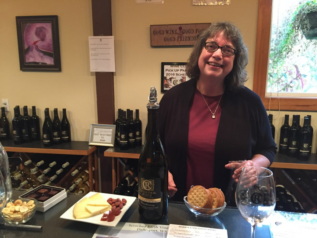 Jan McCartan - Cathedral Ridge Winery