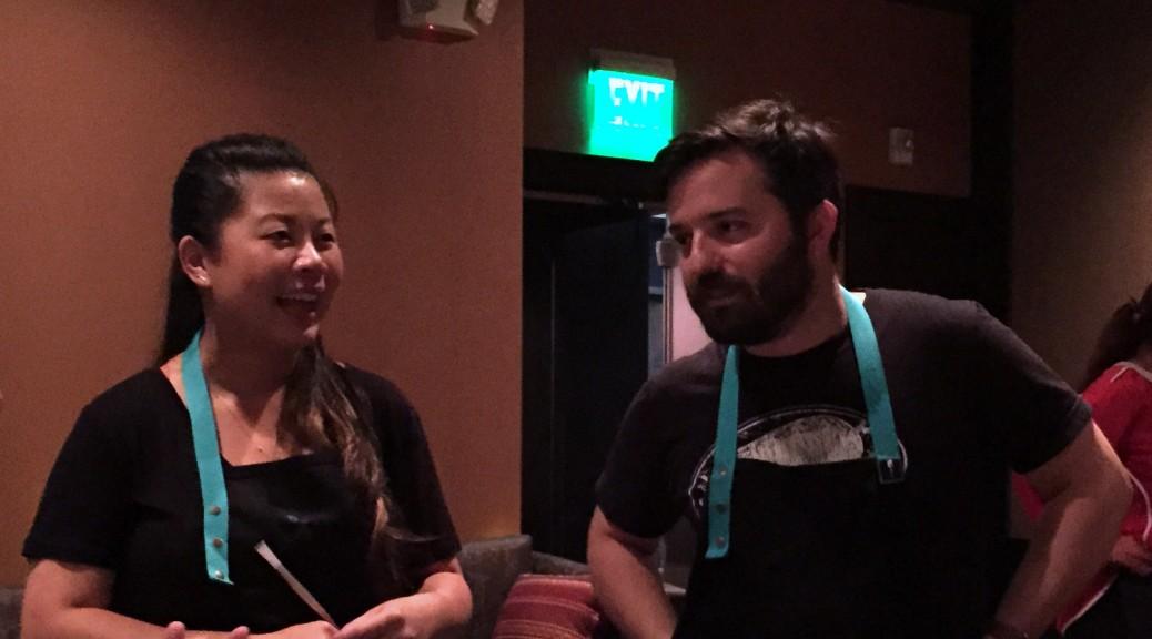 Mei Lin and Doug Adams